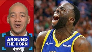 Are the Warriors picking sides by suspending Draymond Green? | Around the Horn