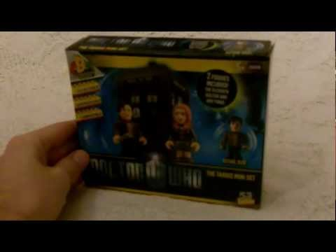 Dr Who Lego/Character Building TARDIS playset review. unboxing. and timelapse build