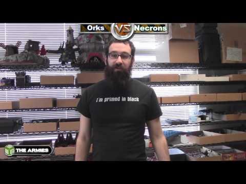 Necrons vs Orks Warhammer 40k Battle Report - Waaagh! Batrep Ep 15 - Part 1/5