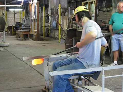 Blenko Glass Factory - Milton, WV