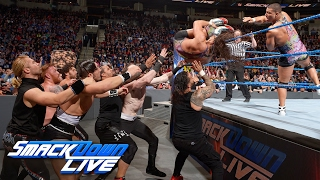 12-Man Tag Team Match: SmackDown LIVE, Feb. 7, 2017