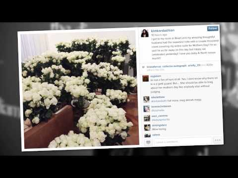 Kanye West Sent Kim Kardashian Thousands of Roses for Mother's Day | Splash News TV | Splash News TV