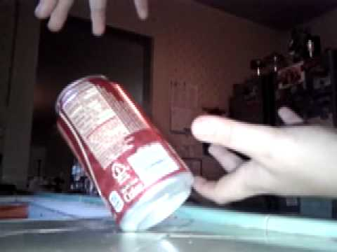 Magic Trick #2 Tilted Soda Can