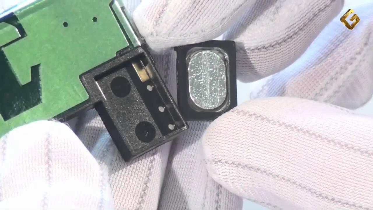 Ремонт Nokia 6300 - замена полифонического динамика - YouTube