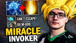 EPIC GAME Miracle- Invoker GOD-MODE Show His BEST SIGNATURE Hero | Dota 2 Invoker