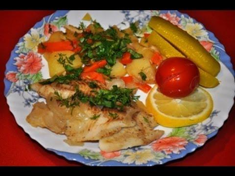 ак приготовить рыбу с картошкой в мультиварке