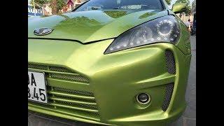Xe thể thao bình dân Hyundai Genesis độ kiểu Aston Martin giá 485 triệu đồng