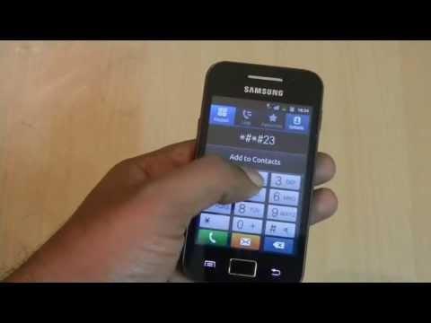 Solve Wifi Error on Samsung Galaxy Ace
