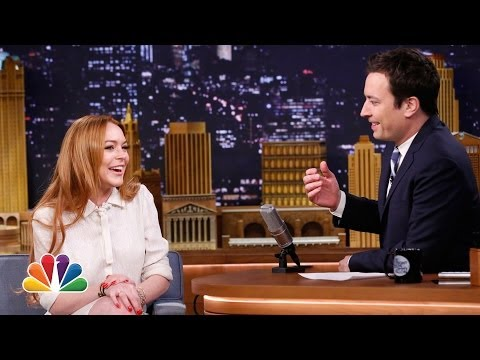 Lindsay Lohan Loves Being Back in NY