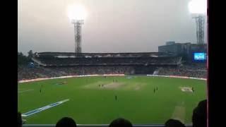 Shikhar Dhawan hits Six of Shakib Al Hasan - Eden Gardens Kolkata - KKR vs SRH IPL T20