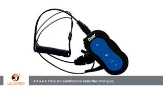 Diver DB-10 4GB Waterproof MP3 Player with Waterproof Earphones (Blue) | Review/Test