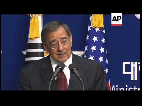 US Defence Secretary Panetta continues visit to Seoul