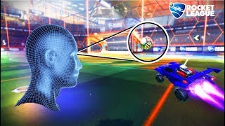 Playing Rocket League with an Eye Tracker