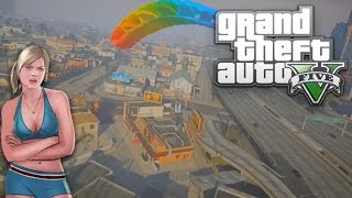GTA 5 Funny Moments (Flying, Parachuting Out Of Jet, Movie Voice Impression Returns)