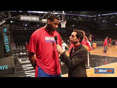 Andre Drummond Detroit Pistons Interview