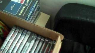 Huge WWE / TNA DVD Unboxing And WWE Bluray Pickup