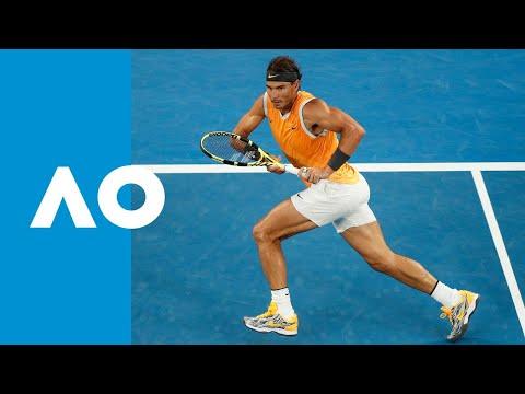 Rafael Nadal v Alex de Minaur match highlights (3R)   Australian Open 2019