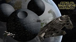 Mickey Mouse Death Star (Star Wars)
