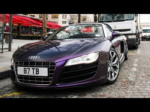 [VLOG] Driving to Paris in the R8 Spyder