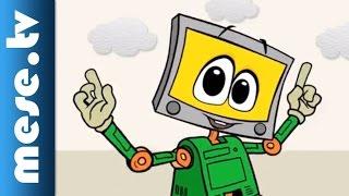 Bigyoo 'Bot színre lép (biztonságos internet gyerekeknek, animáció)