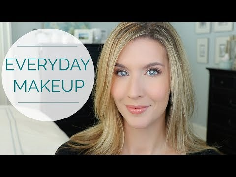 Natural Everyday Makeup Tutorial   Over 40 Beauty