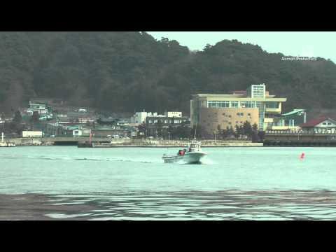 浅虫温泉・湯ノ島カタクリ - 渡し船 - 0204A