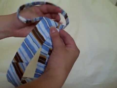 Как завязать детский галстук