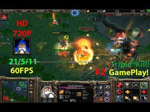 ★DoTa Sniper - GamePlay 6.83★KDA 21/5/11 Fast and More farm!★
