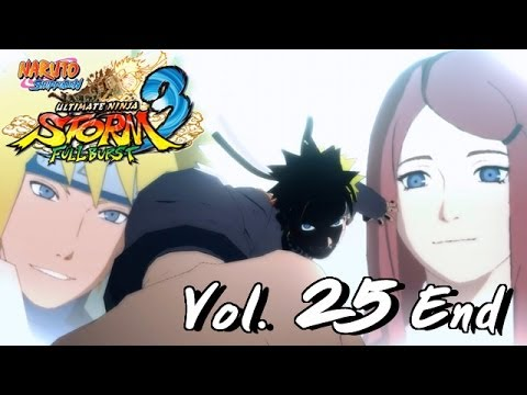 Naruto Ultimate Ninja Storm 3 #25 [END] : Nine Tails ,Naruto VS Tobi ,Tail Beast