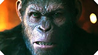 WAR FOR THE PLANET OF THE APES - Official TRAILER (2017)