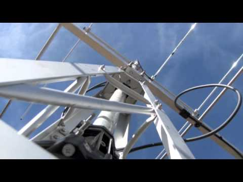 N0AH and W0ANT Rooftop Antennas