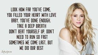 Shakira - Try Everything (Lyrics) 🎵