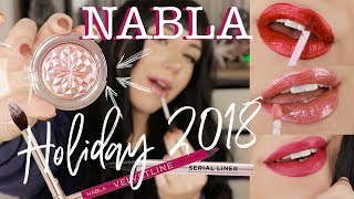 NABLA Holiday 2018 | LIP SWATCHES + REVIEW