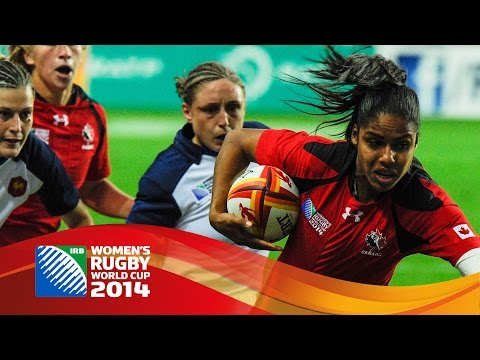 [HIGHLIGHTS] France 16-18 Canada in Women's Rugby World Cup semis