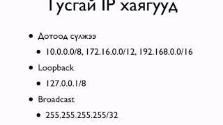 IP хаяг гэж юу вэ?