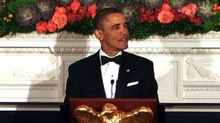 President Obama Speaks at National Governors Association Dinner  2/25/13
