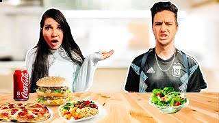 Swapping DIETS with my BOYFRIEND! *Worst Challenge!