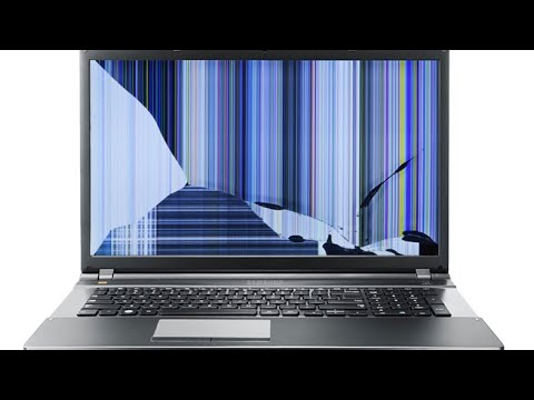 HOW TO FIX HORIZONTAL / VERTICAL LINES ON LAPTOP SCREEN LCD (LENOVO)