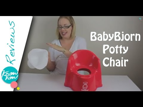 BabyBjorn Potty Chair Review. Toilet Training Help