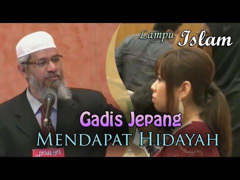 Gadis Jepang Mendapat Hidayah Di Ceramah Dr. Zakir Naik