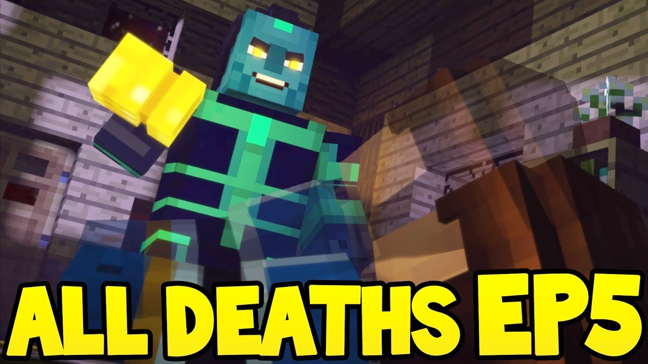 Minecraft Story Mode: Season 2 - ALL DEATH SCENES! - Episode 5