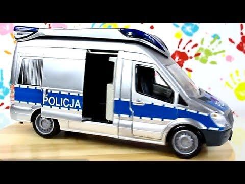 Police Car Radiowóz Policyjny Emergency Van Dickie Simba 3313919 Recenzja