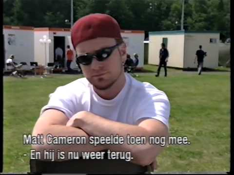 Pinkpop Festival 2000 - Interview with Jeff Ament and Stone Gossard
