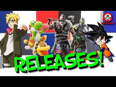 Die neuen SPIELE im FEBRUAR 2017 - Releases für PS4, Xbox One, PC & 3DS │Frisch Aufgetischt