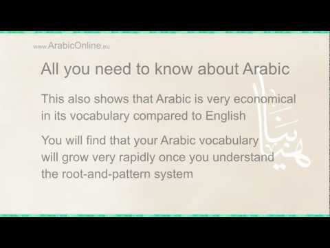 Myths and Facts about the Arabic language