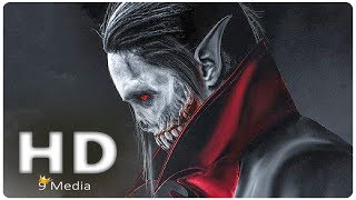 MORBIUS: The Living Vampire (2019) Jared Leto, Marvel Spider-man Spinoff Movie Preview HD