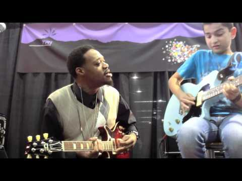 Eric Gales Absolute Best of NAMM 2012 Anaheim, CA