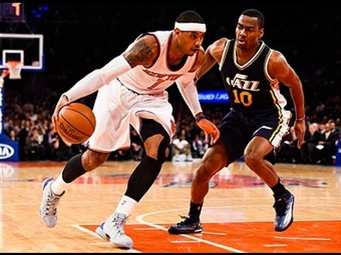 Carmelo Anthony Scores NBA 46-Points in Tough Loss