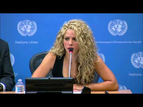 @360Magazine: @UNICEF Goodwill Ambassador @shakira speaks on Syria at the @UN