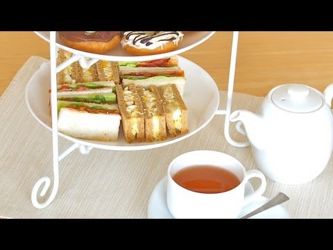 Afternoon Tea Sandwiches (Chicken Egg & BLT) Recipe アフタヌーンティー サンドイッチ